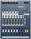 Mikser audio SPIRIT EPM 6ch Soundcraft