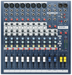 Mikser audio SPIRIT EPM 8ch Soundcraft